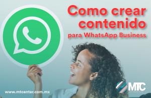aprende a crear contenido en WhatApp