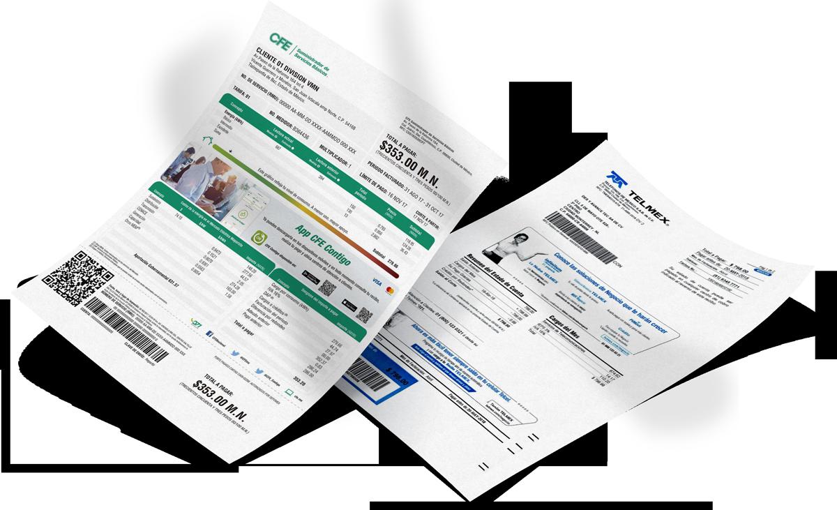 Cobra recibos de CFE, Telmex y más de 40 servicios diferentes desde MTCenter